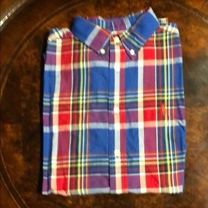 Ralph Lauren Long Sleeve Plaid Shirt